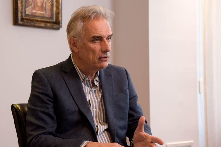 <p>Mario Eliceche, presidente de Fadeeac</p>